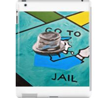 Go to Jail iPad Case/Skin
