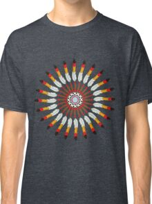Indian Headdress inspired pattern Classic T-Shirt