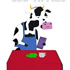 Cow Tipping  by TheIndoorCat