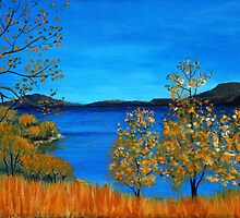 Golden Autumn by Anastasiya Malakhova