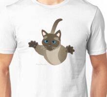 A cat can jump 5 times his own height. Unisex T-Shirt