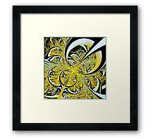 Lemon Twist Framed Print