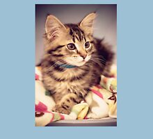 Tabby kitten in vintage colours Unisex T-Shirt