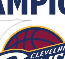 Cleveland Cavaliers 2016 NBA Champions vs. Golden State Warriors Sticker