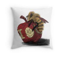 IOU, Honey Throw Pillow