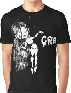 Creepy Doll Graphic T-Shirt