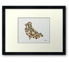 Pomeranian - Animal Art Framed Print