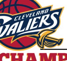 Cleveland Cavaliers Champions!! FINALLY NBA CHAMPS Sticker