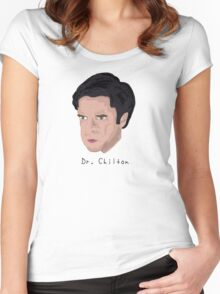 Dr. Chilton NBC Hannibal  Women's Fitted Scoop T-Shirt