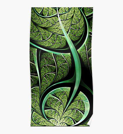 Leaf Texture Poster