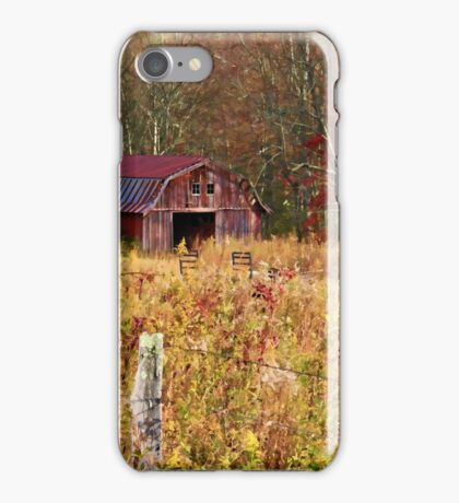 Barns - Country Life  iPhone Case/Skin
