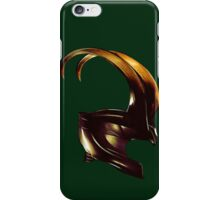 Helmet of Loki iPhone Case/Skin