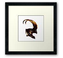 Helmet of Loki Framed Print