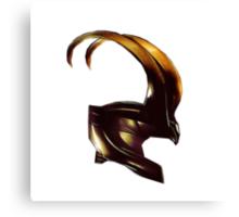 Helmet of Loki Canvas Print