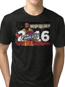 Cleveland Cavaliers Champions!! FINALLY NBA CHAMPS Tri-blend T-Shirt
