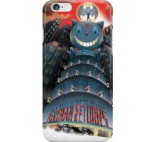 The Bat, The Cat, The Penguin iPhone Case/Skin