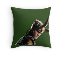 loki of asgard  Throw Pillow