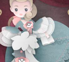 Madame de Pompadour and Furfrou Sticker