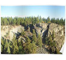 Rock Outcrop I - WA  Poster
