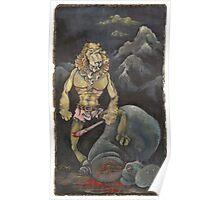 Killer Lion Poster