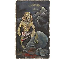 Killer Lion Photographic Print