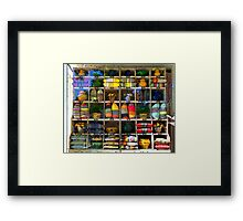 Pillows and Pots Framed Print