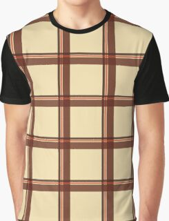 Shades of Autumn Tartan Graphic T-Shirt