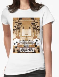 Zomar The Great - Balancing Act Womens Fitted T-Shirt