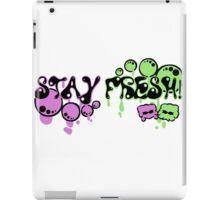 Stay Fresh! iPad Case/Skin