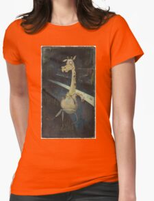 Liver Spots Womens Fitted T-Shirt