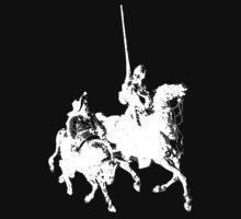 Don Quixote and Sancho Panza by Archpress