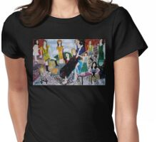 Girls Party Womens Fitted T-Shirt