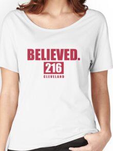 Believed - Cleveland - Finals tee Women's Relaxed Fit T-Shirt