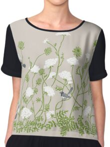 Queen Anne Lace Chiffon Top
