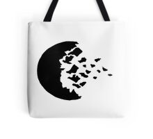 rwby fractured moon black Tote Bag