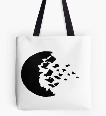 rwby fractured moon black Tote Bag