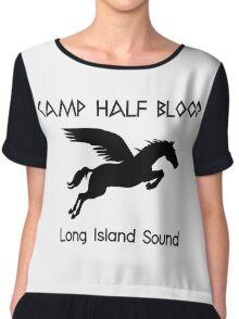 Camp Half-Blood  Chiffon Top