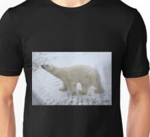 Inquisitive Polar Bear Unisex T-Shirt