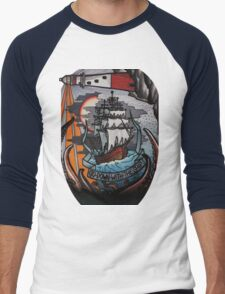 go down with the ship Men's Baseball ¾ T-Shirt