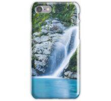 Hokitika Gorge Waterfall iPhone Case/Skin