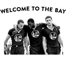 WELCOME TO THE BAY Photographic Print