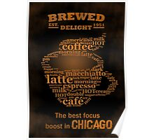 Watch Dogs - Brewed Delight Coffee Poster