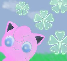 Jigglypuff is Happy by CastleDownpour