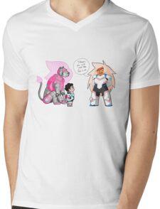 The Pink Paladin Mens V-Neck T-Shirt