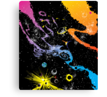 spacey placey  Canvas Print