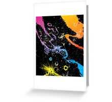 spacey placey  Greeting Card