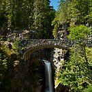 Christine Falls, Mount Rainier National Park by Harv Churchill