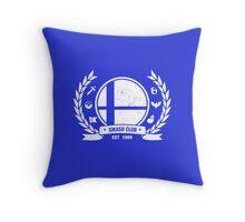 Smash Club Ver. 2 (White) Throw Pillow