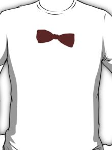 11th Doctor Bow Tie T-Shirt