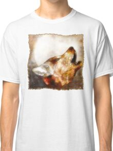 abstract howling wolf Classic T-Shirt